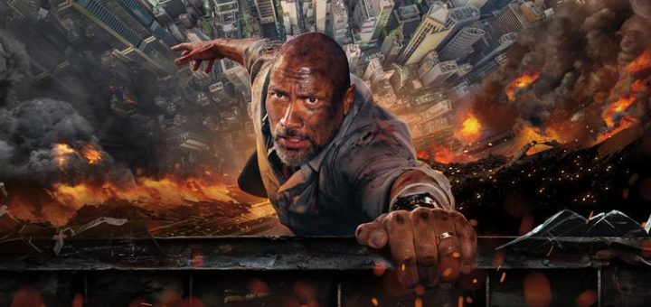 Skyscraper 2018 Dwayned Rock Johnson action disaster movie