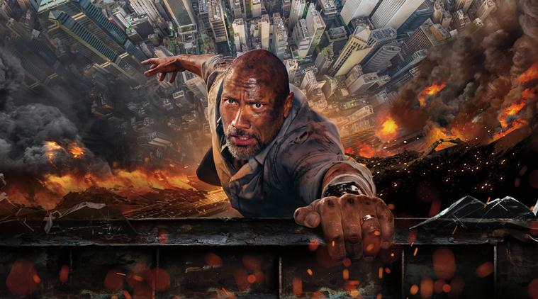 Skyscraper 2018 Dwayne Rock Johnson action disaster movie