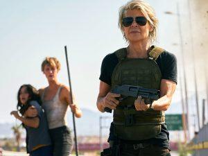 Terminator Dark Fate Linda Hamilton Mackenzie Davis