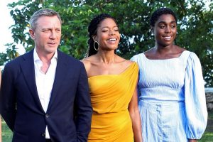 Bond 25 Daniel Craig Naomie Harris Lashana Lynch 007