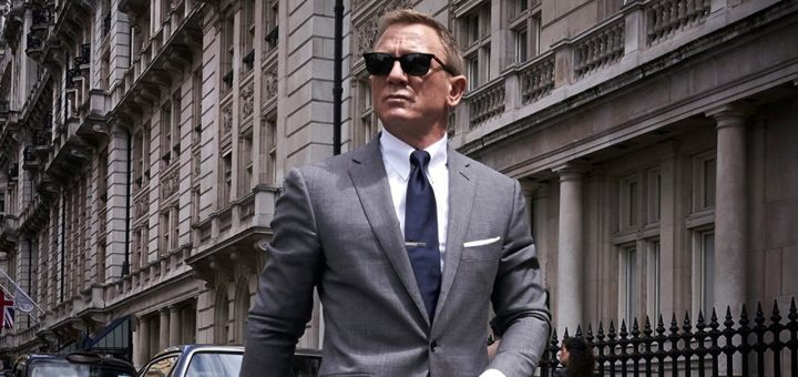 Daniel Craig as James Bond 25 filming production London
