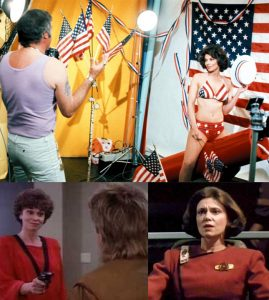 Tricia O'Neil Gumball Rally 1976 MacGyver Star Trek