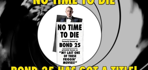 No Time To Die James Bond 25 Title