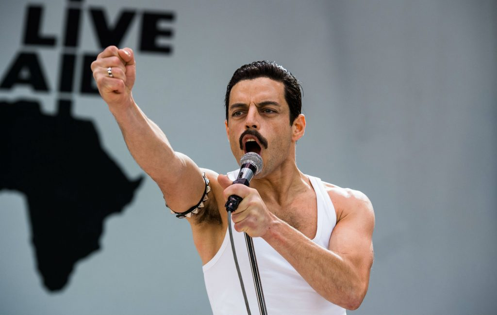 Rami Malek as Freddy Mercury Bohemian Rhapsody 2018