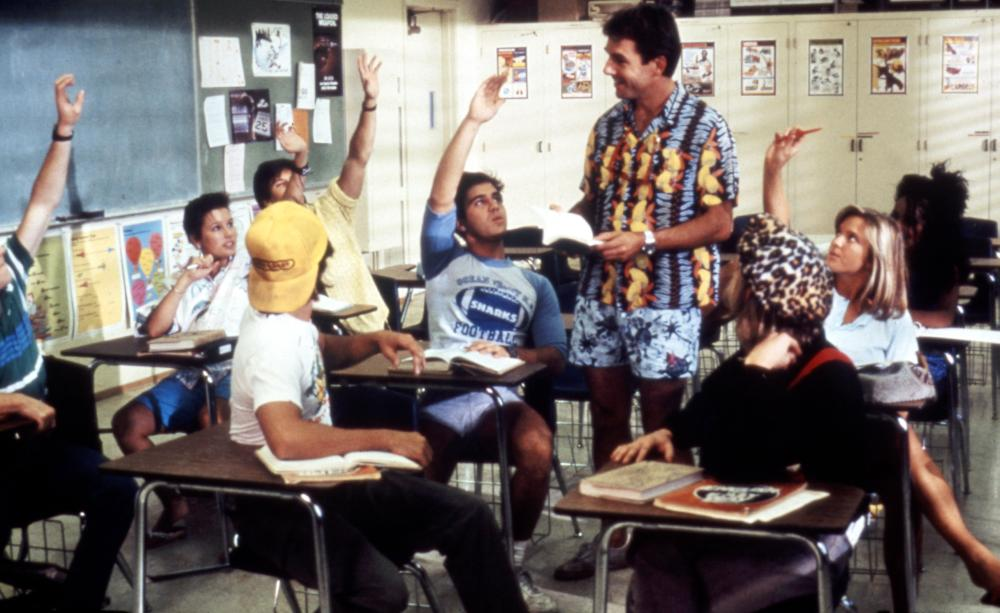Summer School 1987 comedy Mark Harmon