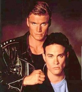 Dolph Lundgren Brandon Lee Showdown in Little Tokyo 1991 action movie