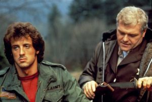 First Blood 1982 Sylvester Stallone Brian Dennehy