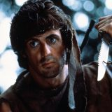 Sylvester Stallone as John Rambo in First Blood 1982