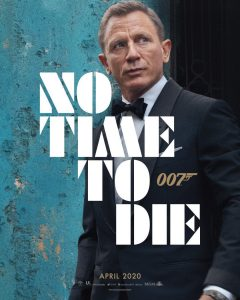 Daniel Craig No Time To Die Teaser Poster