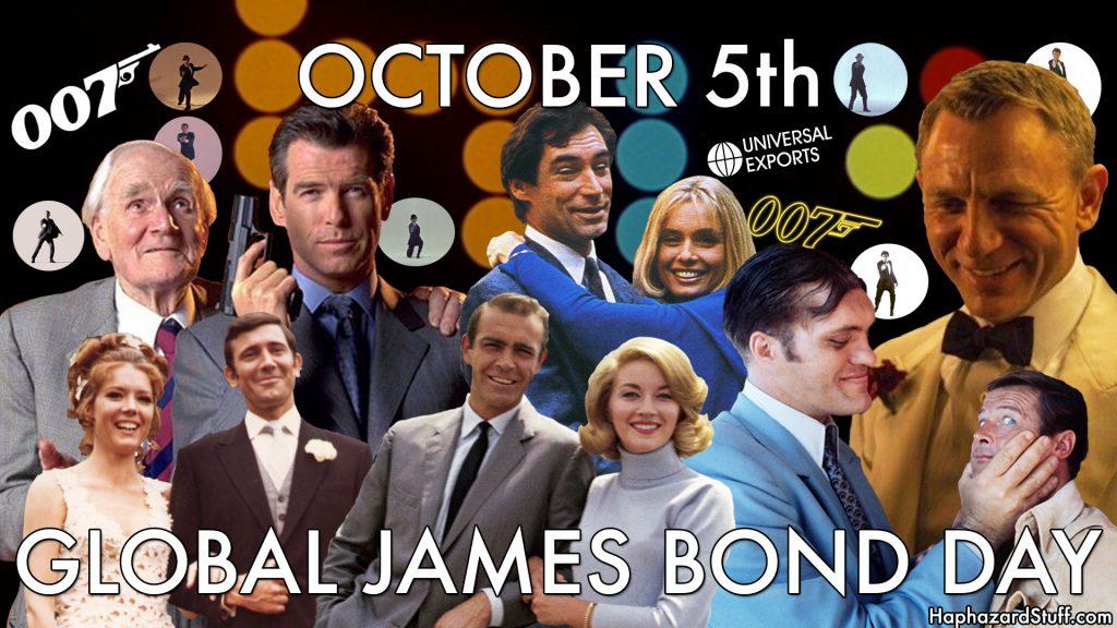 Global James Bond Day October 5