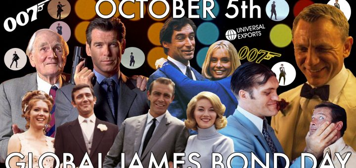 Global James Bond Day October 5