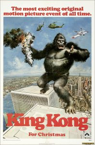 King Kong 1976 movie film poster