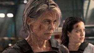 Linda Hamilton Natalia Ramos Terminator Dark Fate 2019
