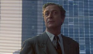 Michael Caine in A Shock To The System 1990 black comedy murder crime