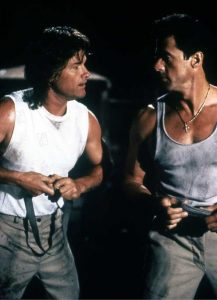 Sylvester Stallone Kurt Russell Tango & Cash 1989 buddy action movie