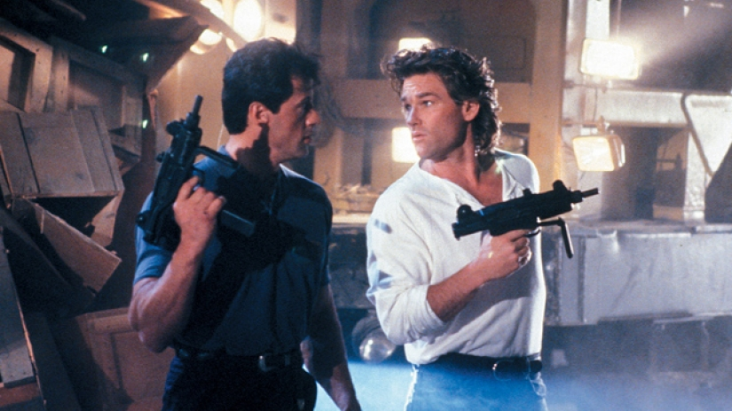Sylvester Stallone Kurt Russell action movie Tango & Cash 1989