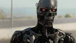 Terminator Dark Fate 2019 exoskeleton robot cyborg