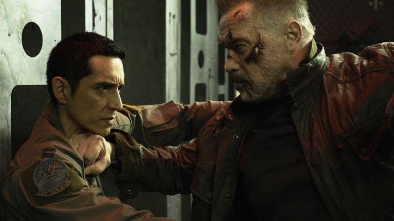 Terminator Dark Fate Gabriel Luna Arnold Schwarzenegger 2019