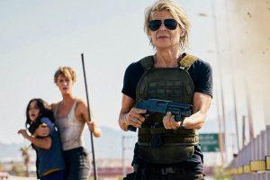 Terminator Dark Fate Linda Hamilton Mackenzie Davis Natalia Reyes