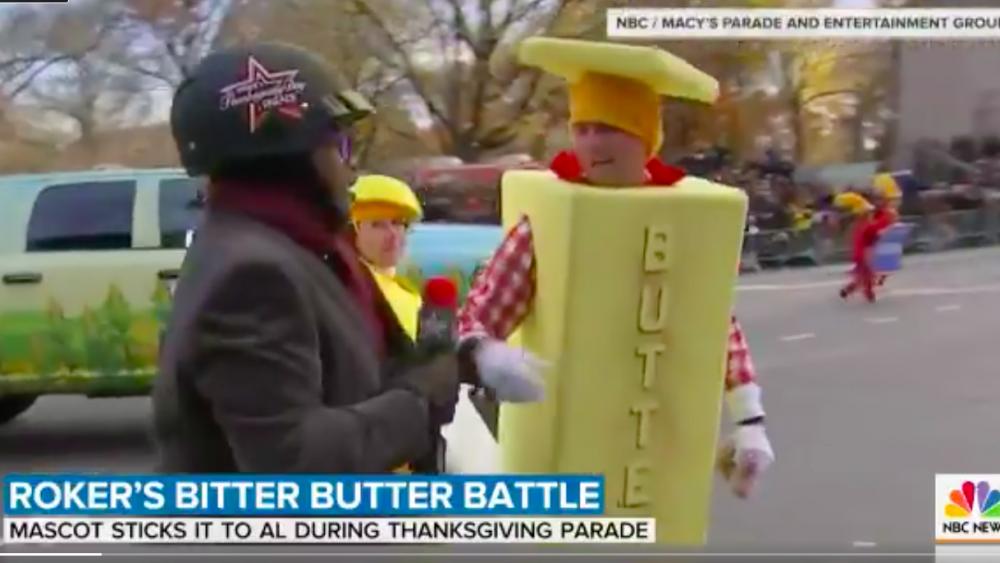 Al Roker Thanksgiving Parade butter report