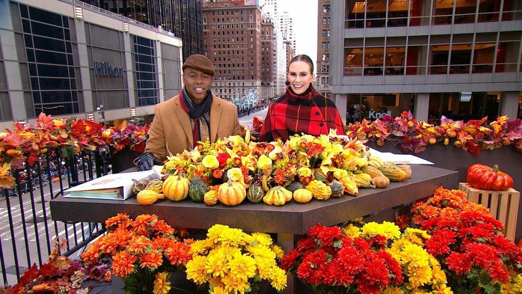 CBS Thanksgiving Day Parade Kevin Frazier Keltie Knight