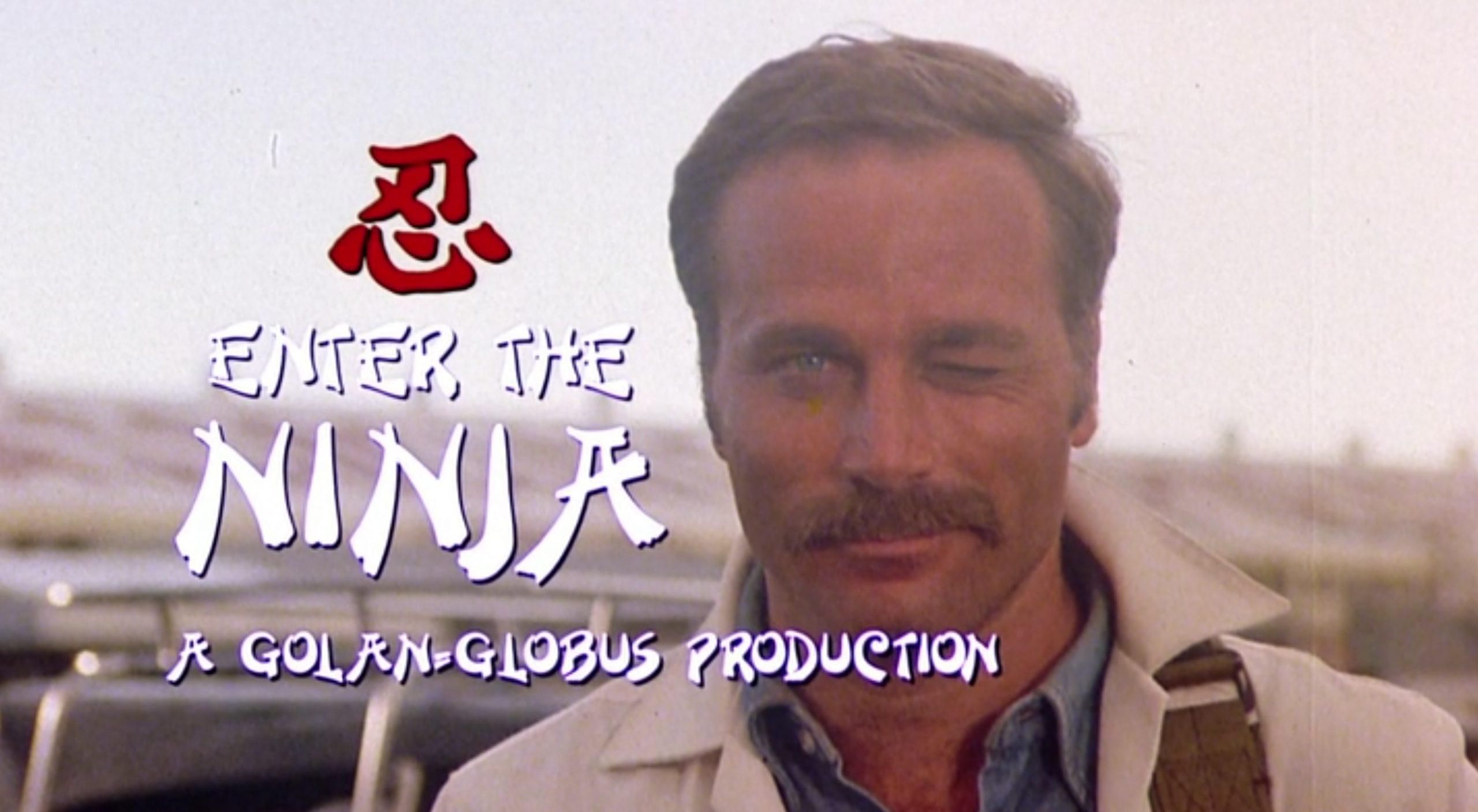 Franco Nero Enter The Ninja 1981 Cannon action movie