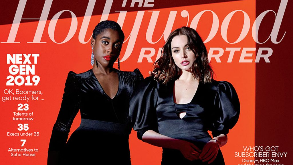 Hollywood Reporter Lashana Lynch Ana de Armas