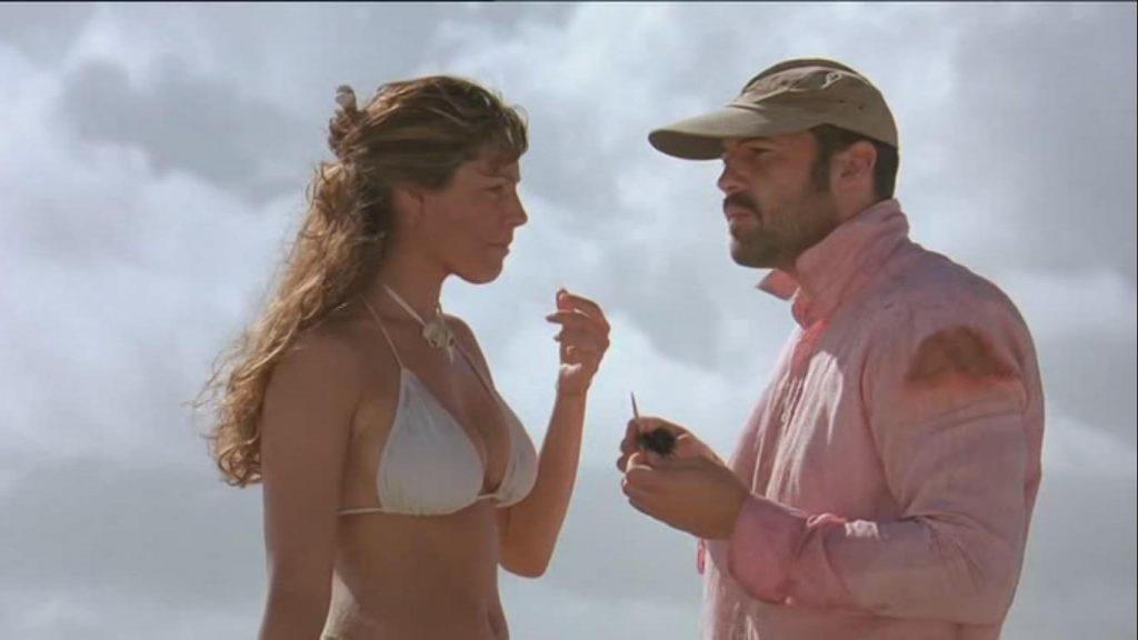 Kelly Brook Billy Zane Three Survival Island 2005 movie