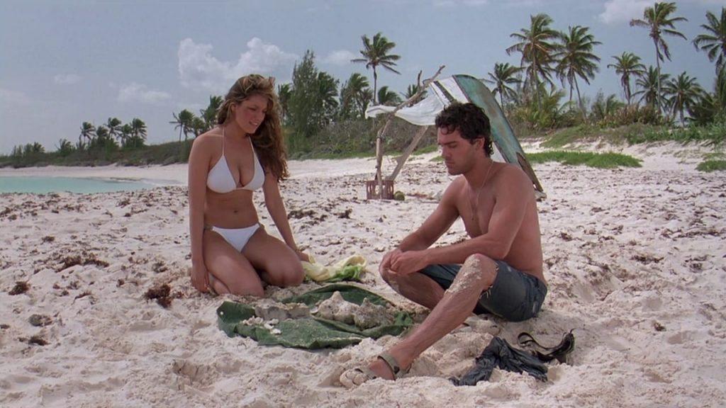Kelly Brook Juan Pablo Di Pace Three Survival Island 2005 movie