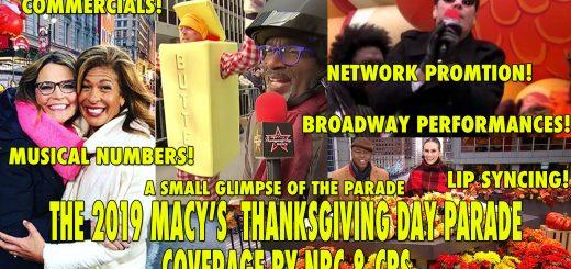 Macys Thanksgiving Parade 2019 NBC CBS broadcast awful terrible sucks