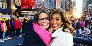 Savannah Guthrie Hoda Kotb Thanksgiving Day Parade NBC 2019