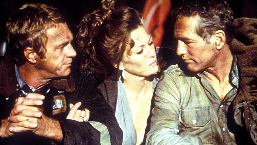 Towering Inferno 1974 Steve McQueen Faye Dunaway Paul Newman