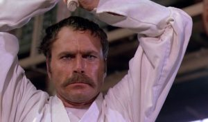 Franco Nero in Enter The Ninja Cannon martial arts action movie
