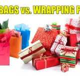 Gift Bags vs Wrapping Paper