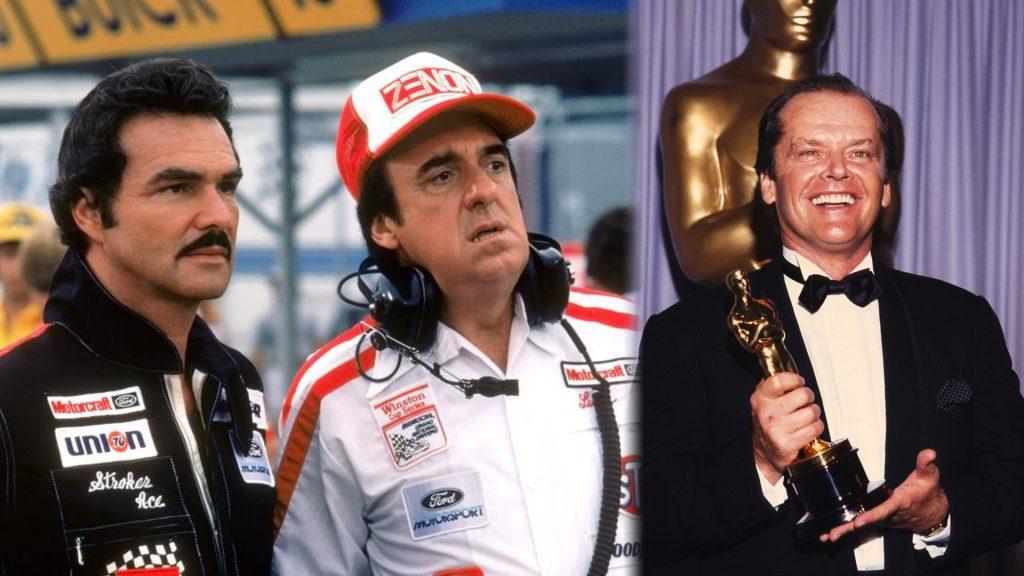 Burt Reynolds Jack Nicholson Oscar Terms of Endearment Stroker Ace 1983