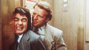 Dudley Moore David Rasche Best Defense 1984 comedy