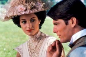 Jane Seymour Christopher Reeve Somewhere In Time 1980 romantic movie