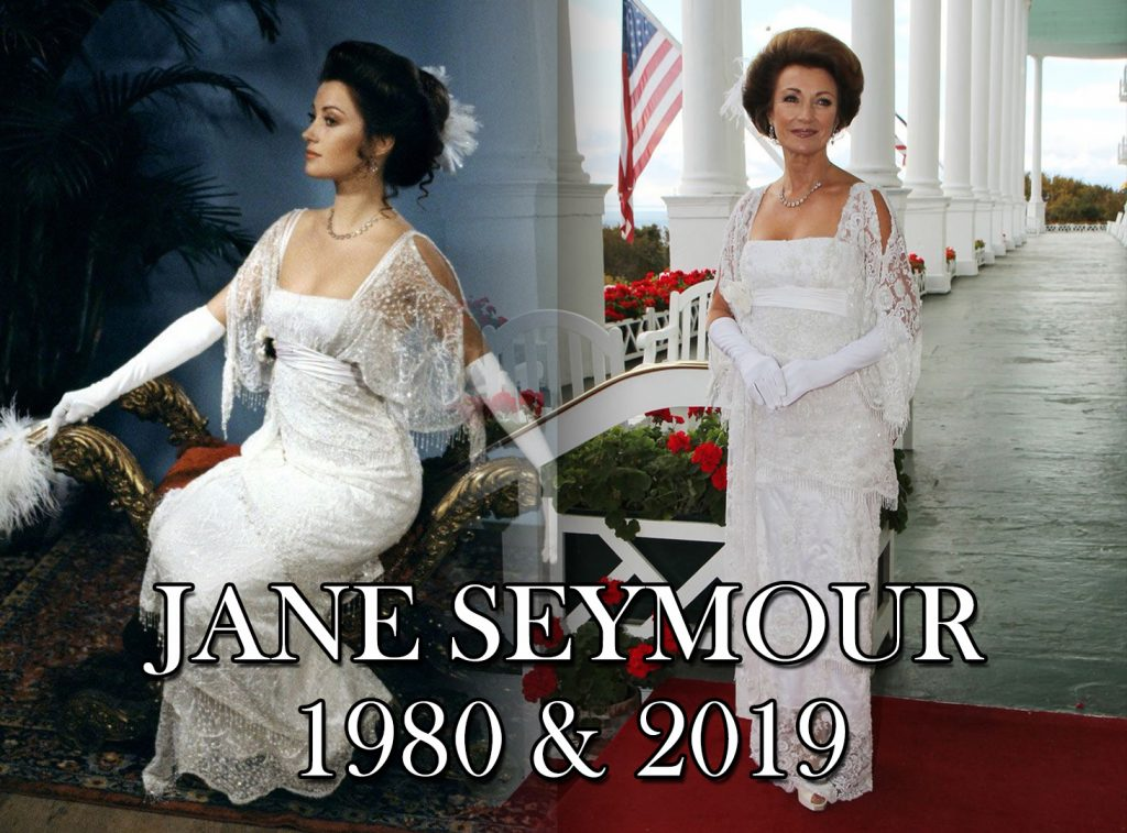 Jane Seymour Somwhere in Time 1980 hotel event 2019