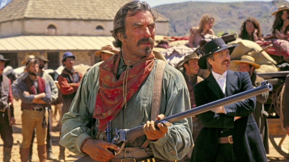 Qugley Down Under 1990 western Tom Selleck Alan Rickman