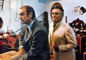 Sean Connery Martin Balsam The Anderson Tapes 1971