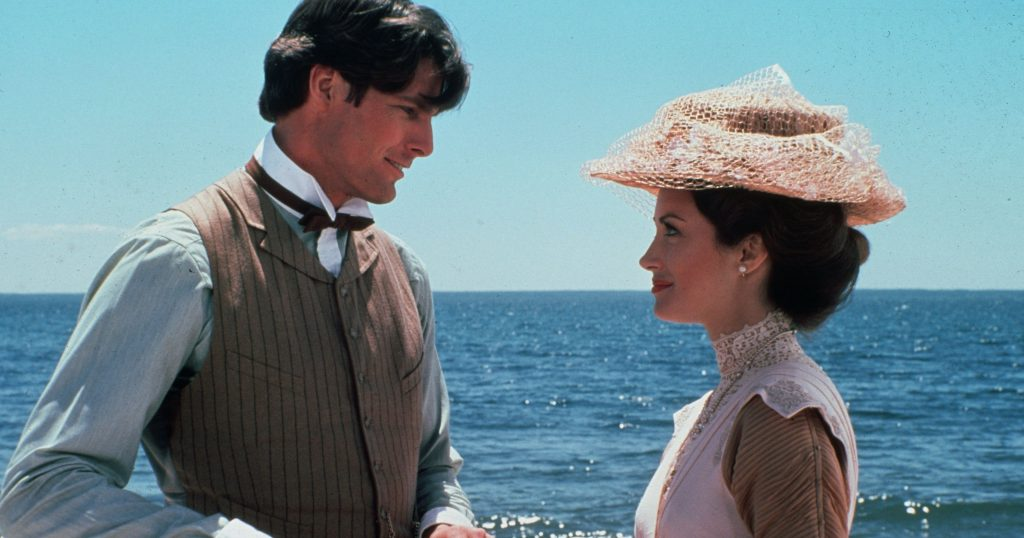 Somewhere In Time 1980 romance Christopher Reeve Jane Seymour