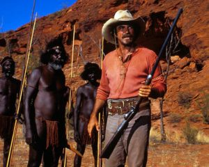Tom Selleck in Quigley Down Under 1990 western movie
