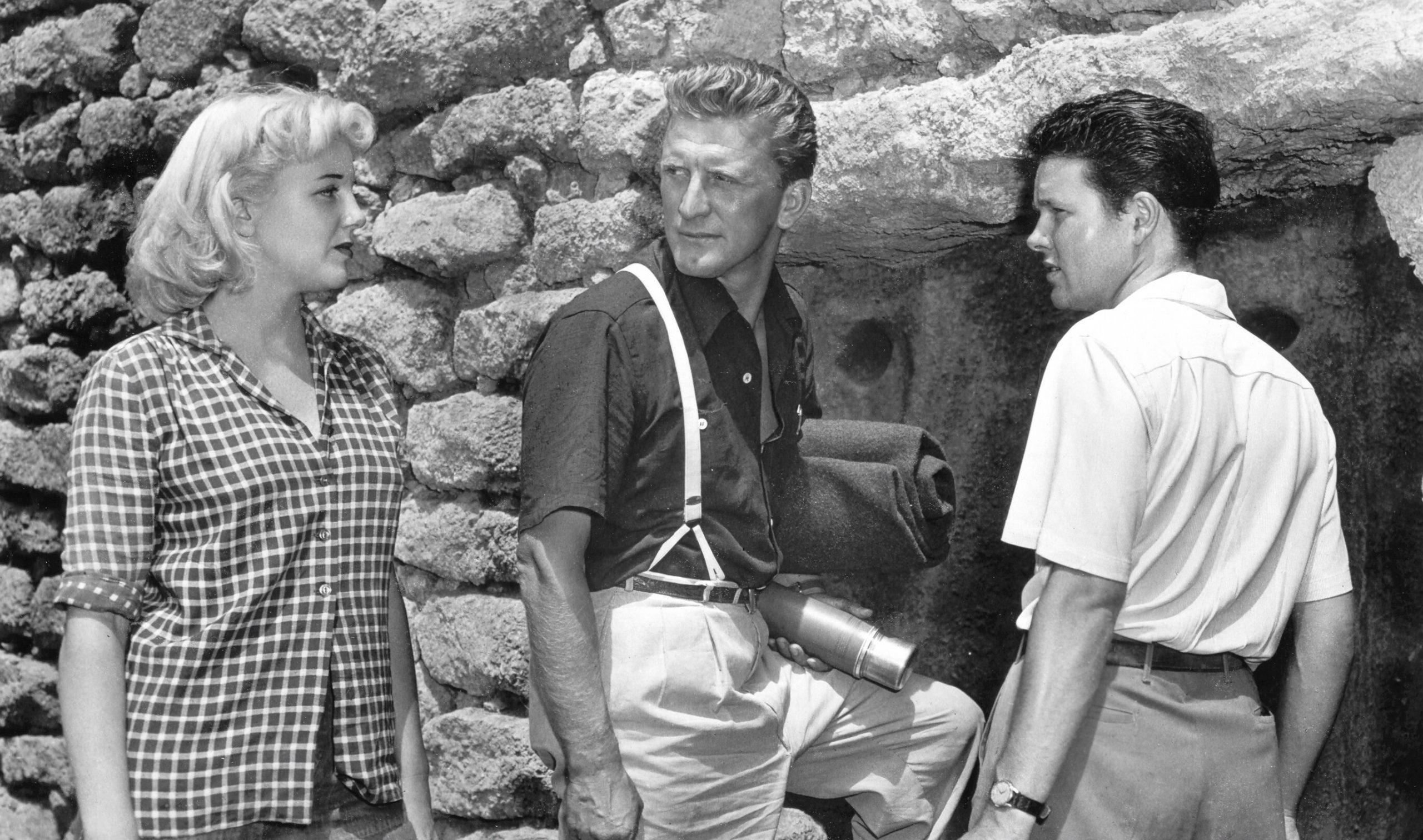 Ace In The Hole Big Carnival 1951 Kirk Douglas Jan Serling Robert Arthur Billy Wilder film movie