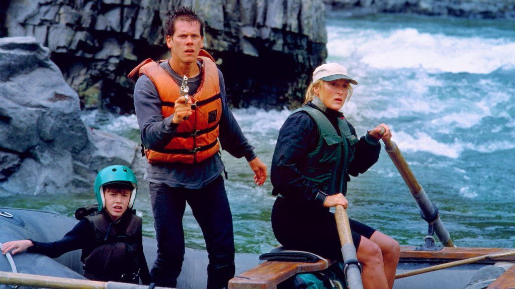 Kevin Bacon Meryl Streep River WIld 1994 thriller
