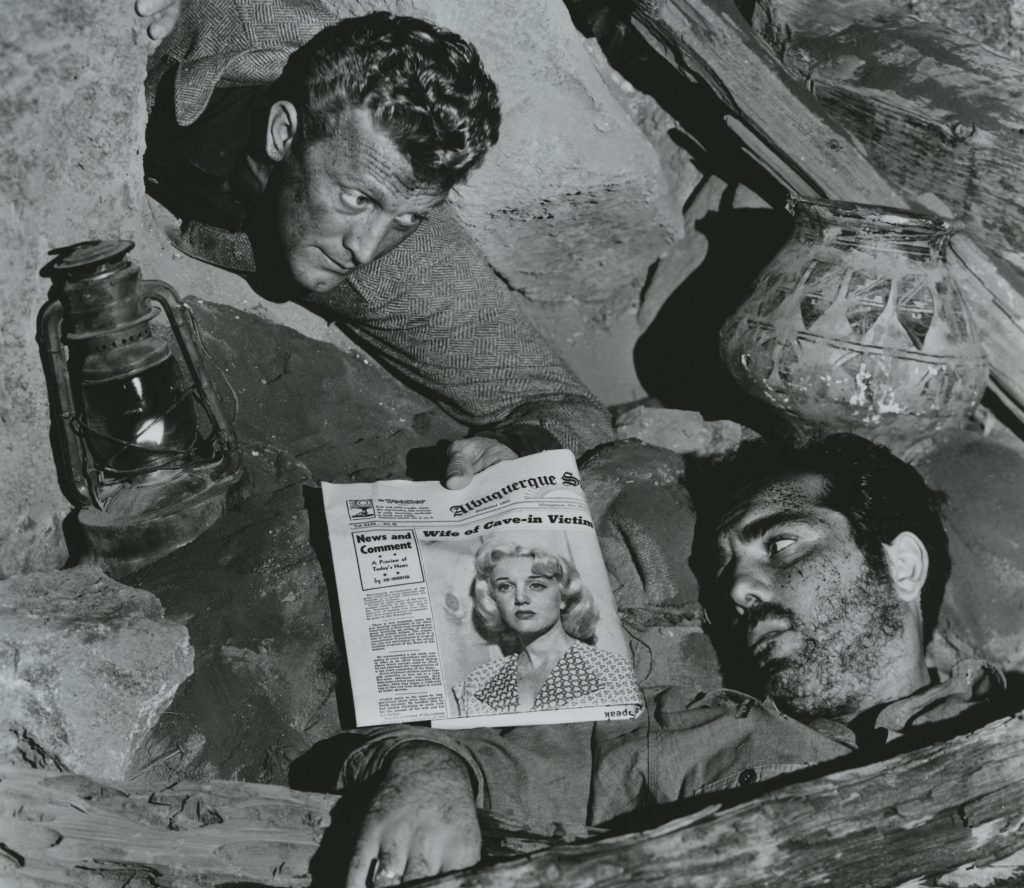 Kirk Douglas Richard Benedict Ace In The Hole 1951 Billy Wilder film