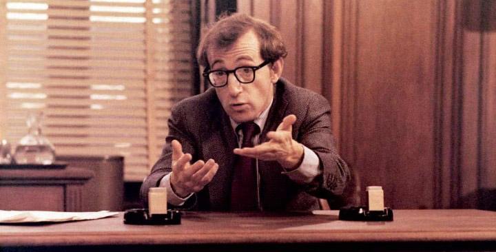 Woody Allen The Front 1976 movie Hollywood blacklist drama