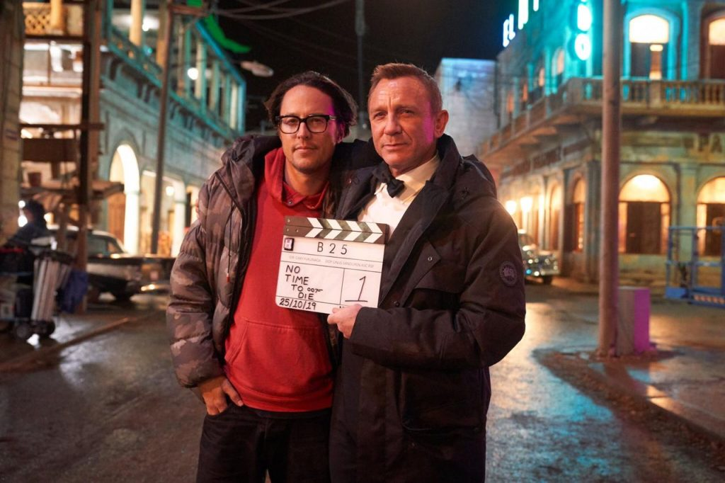 Cary Fukunaga Daniel Craig No Time To Die filming