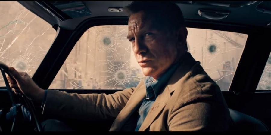 No Time To Die Daniel Craig as James Bond 007