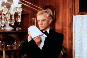 Malcolm McDowell The Caller 1987 thriller film