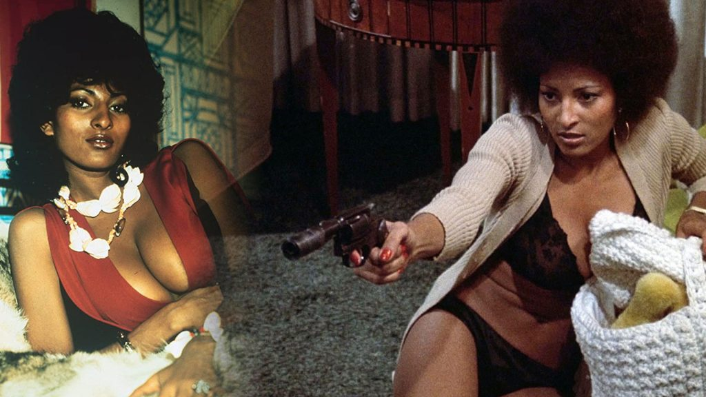 Pam Grier as Coffy 1973 blaxploitation movie heroine